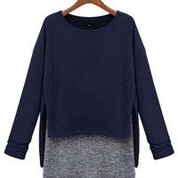 Long Sleeve Knit T-shirt
