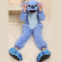 Size S Cute Stitch Costume Japan Pajamas Birthday Halloween Gift