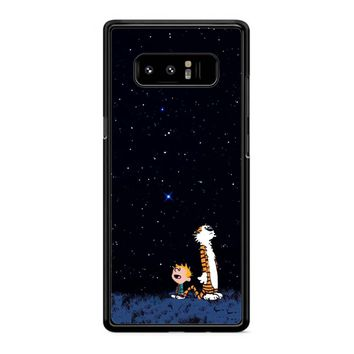 Calvin And Hobbes Stars Samsung Galaxy Note 8 Case