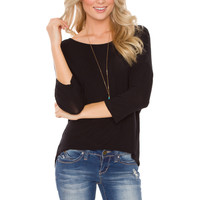 Devyn Basic Top - Black