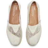 WHITE LACE ROPE WOMEN'S CLASSICS