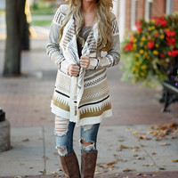 My Heart's in Oklahoma Cardigan