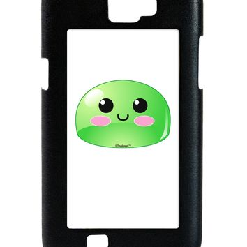 Cute RPG Slime - Green Galaxy Note 2 Case  by TooLoud