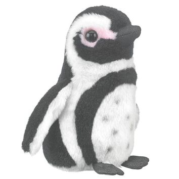 "5"" Black-footed Penguin Finger Puppets Stuffed Animals Conservation Collection"