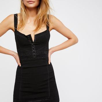 Free People Lace Me Up Bodycon