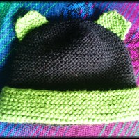 Organic Merino Baby Bear Hat on Luulla