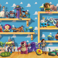 Disney Pixar Collection: On the Toy Shelf | Children's Puzzles | 2D Puzzles | Shop | US | ravensburger.com