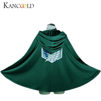 Novelty Anime Shingeki no Kyojin Cloak Cape Clothes  Coser Cloak Cartoon Costumes Cosplay Attack on Titan Oversize Dec5