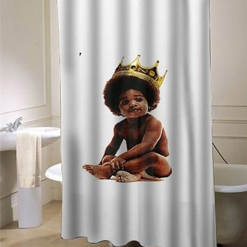 Big notorious big biggie smalls showercurtain