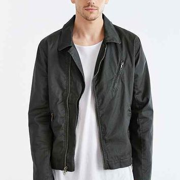 Your Neighbors Coated Moto Flight Jacket-