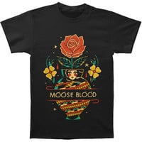 Moose Blood Men's  Vase T-shirt Black Rockabilia