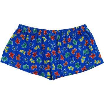 Grateful Dead Women's  Underwear Blue
