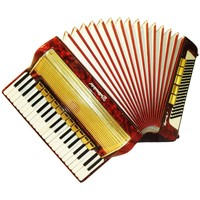 Weltmeister Gigantilli V, 120 Bass, 16 Registers, German Piano Accordion, 634