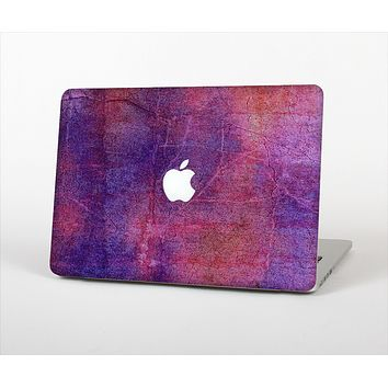 The Pink & Blue Grungy Surface Texture Skin Set for the Apple MacBook Pro 13""