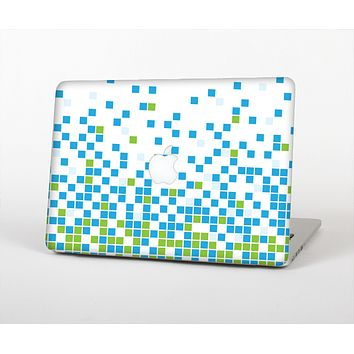 The Green and Blue Mosaic Pattern Skin for the Apple MacBook Air 13""
