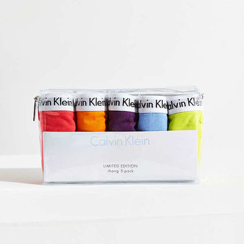 Calvin Klein Pride Thong 5-Pack | Urban Outfitters