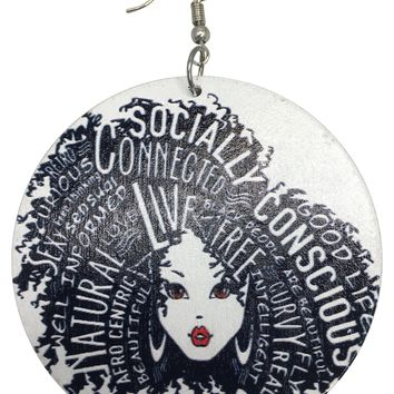 Socially Conscious Afrocentric Earrings