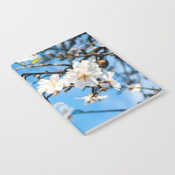Spring Cherry trees Notebook by ARTPICS