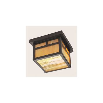 Livex Lighting Montclair Mission Outdoor Flush Mount