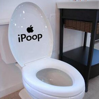 i Poop Toilet decal