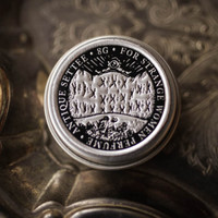 Antique Settee™ - Victorian Solid Perfume - Natural Perfume with Earl Grey, Bergamot, Tea, Rose, Violet, Wood, and Citrus extracts