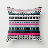 Mix #476 Throw Pillow by Ornaart