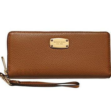 Michael Kors Jet Set Item Travel Continental Wallet Clutch Wristlet