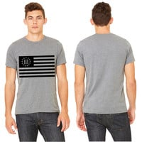 3 percenter flag T-shirt