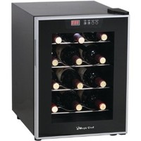MCPMCWC12SV - MAGIC CHEF MCWC12SV 12-Bottle Wine Cooler