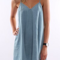 Tori Denim Dress - Womens
