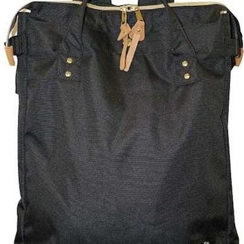 Japanese anello Gold Metal Fittings Square Tote Backpack