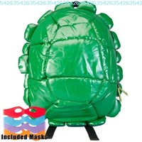 Teenage Mutant Ninja Turtles - Shell Backpack With 4 Masks:Amazon:Clothing