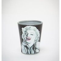 Marilyn Monroe Flush Lips 2 oz. Shot Glass