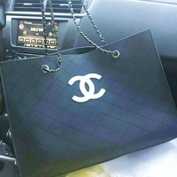 Chanel Women Shopping Leather Handbag Tote Satchel Shoulder Bag G-AGG-CZDL