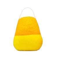 Halloween Plush Dog Toy Candy Corn