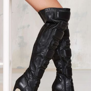 Jeffrey Campbell Motomama Knee-High Leather Boot