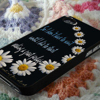 I Go To Seek A Great Perhaps Looking for Alaska Phone Case Back Cover SG S3/S4 | Lealiveus.com
