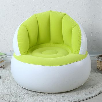 Inflatable Chair Baby Bean Bag Chairs for Kids Portable Baby Chair Inflatable Sofa Seat Chair Baby Sofa Toddler Cosy Learn Seat