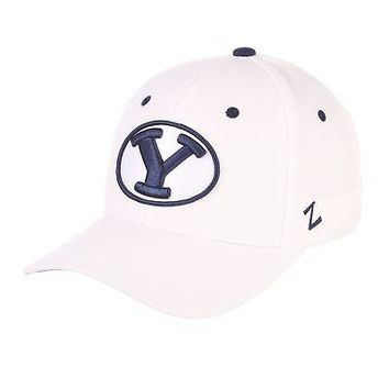 Licensed Byu Cougars Official NCAA DH Size 8 Fitted Hat Cap by Zephyr 172902 KO_19_1