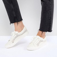 ASOS DESIGN Detox Lace Up Trainers at asos.com
