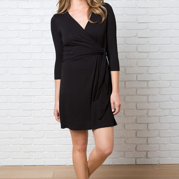 Lissa Wrap Front Dress
