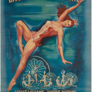 Million Dollar Mermaid 11x17 Movie Poster (1952)