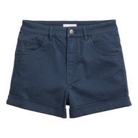 H&M Twill Shorts High Waist $17.99