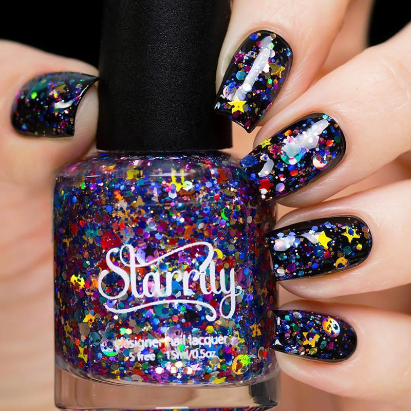 Starrily Galaxy Nail Polish from Live Love Polish
