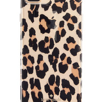 kate spade new york Leopard Clear iPhone 7 Plus Case | macys.com
