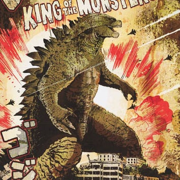 Godzilla King of Monsters Poster 24x36