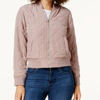 Lucky Brand Quilted Bomber Jacket - Jackets - Women - Macy's
