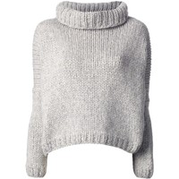 JO NO FUI chunky knit sweater