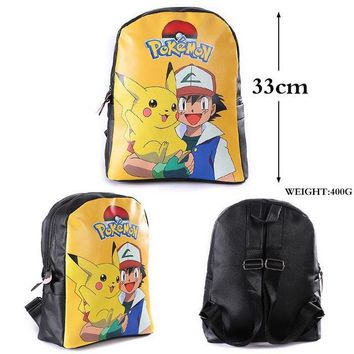 Japanese Anime Bag Hot School bag/primary school backpacks/gift for kids/ fans backpacks pokemon backpack gift for kids ab239 AT_59_4