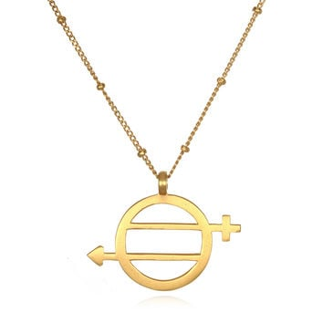 Equal Means Equal - Equality Necklace